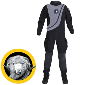 BLACK ICE DRYSUIT - Sea & Sea